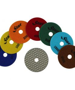 Star Dry Polishing Pad