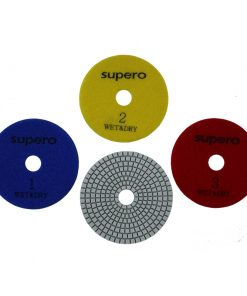 Supero 3 Step Polishing Pads