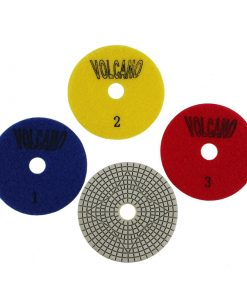 Volcano Quartz 3 Step Polishing Pads